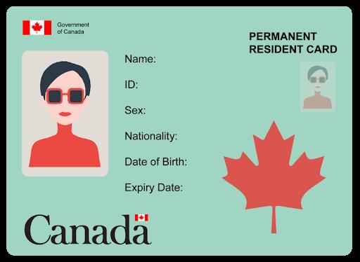 کارت PR کانادا